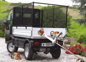 Electric utility vehicle Goupil G4