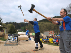 Hultafors axe throwing